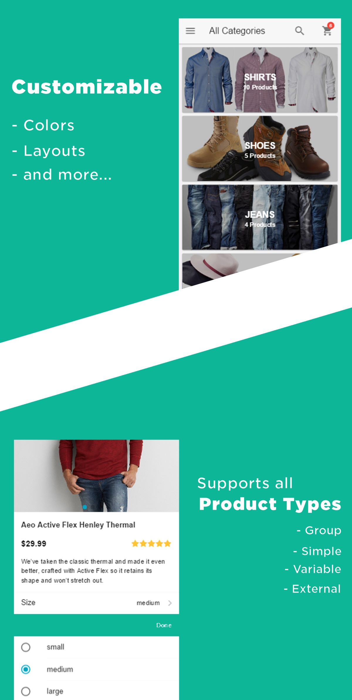 WooMobify - WooCommerce Mobile Theme - 10